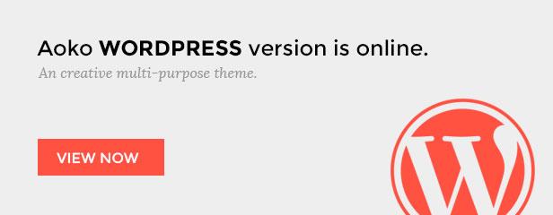 Aoko - Creative HTML Template - 1