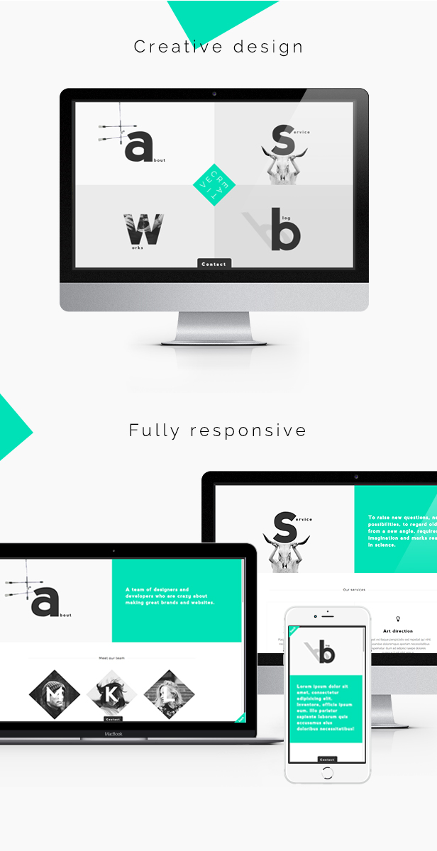 Creative - Portfolio & Agency WordPress Theme - 1
