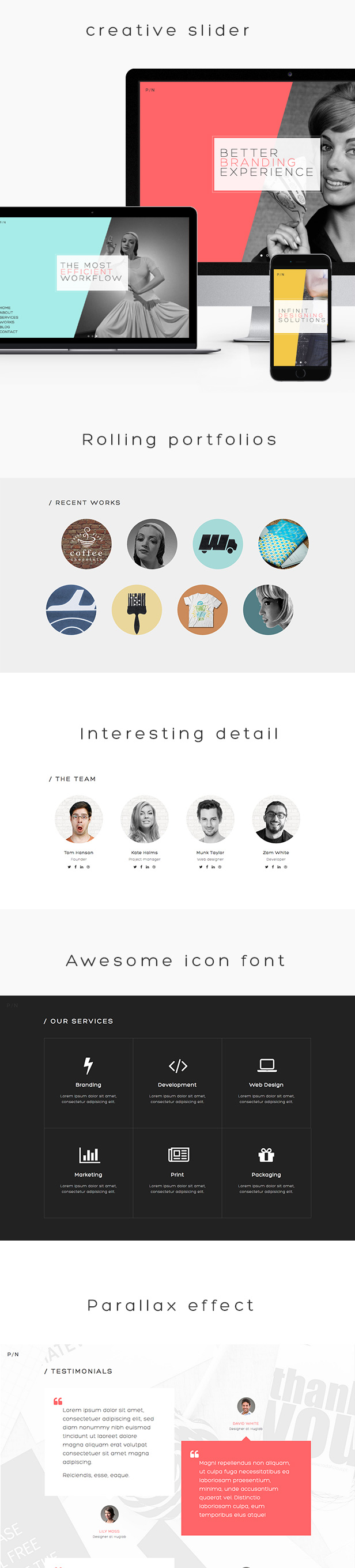 PN - Portfolio & Agency WordPress Theme